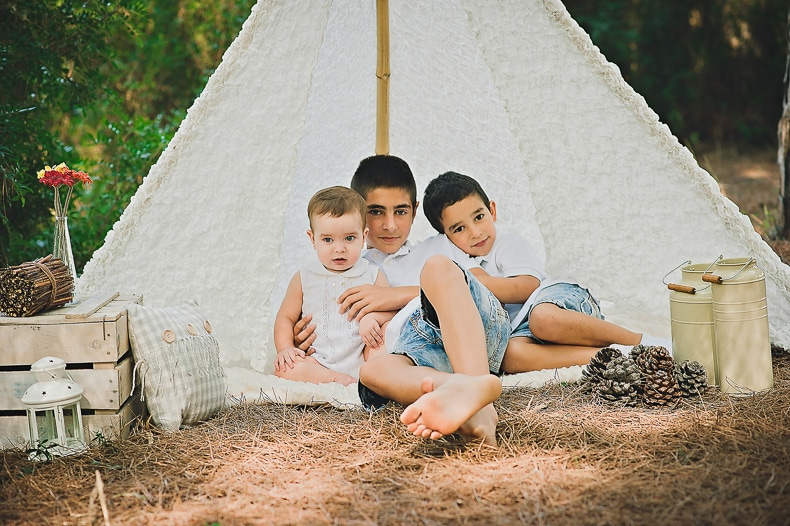 Fco. Miguel, Dani y Manuel... Sesión infantil en Cádiz
