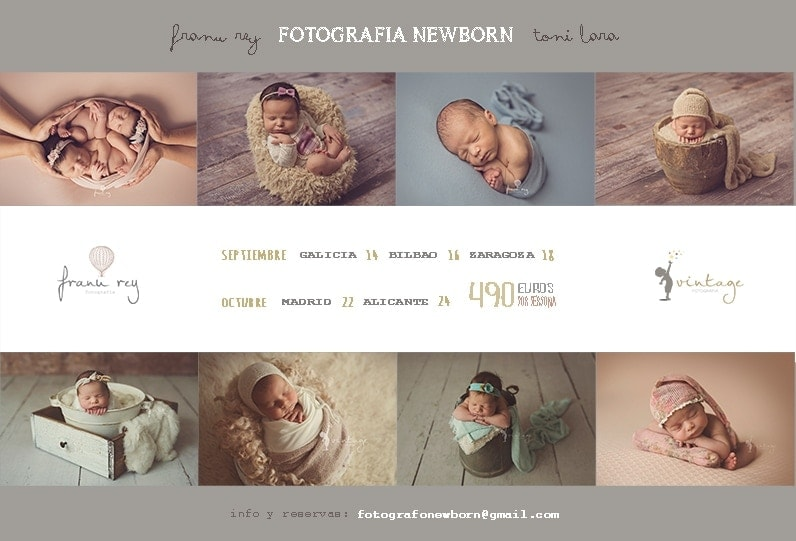 WORKSHOP FOTOGRAFIA NEWBORN