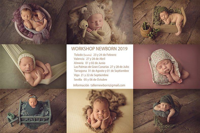 WORKSHOP DE FOTOGRAFIA NEWBORN FRANUREY EN ESPAÑA