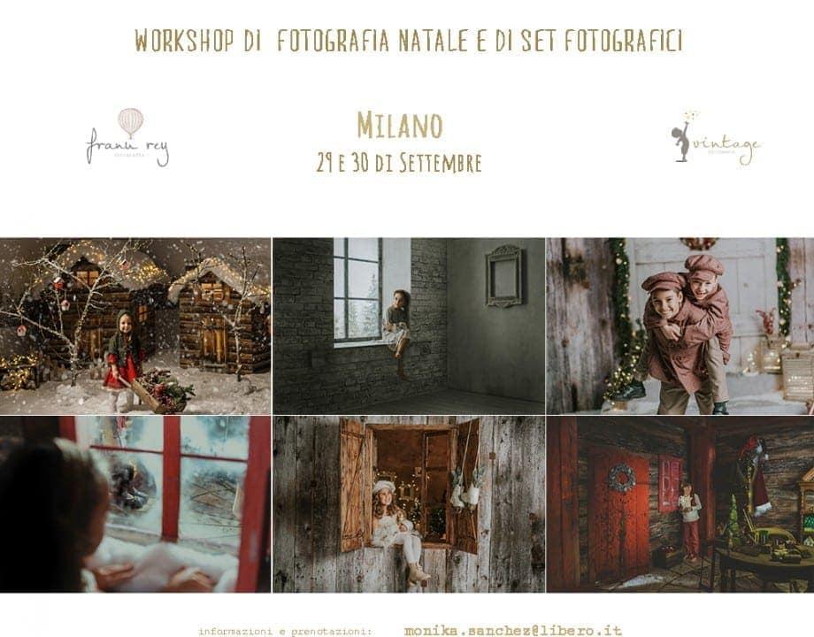 workshop di fotografia di natale